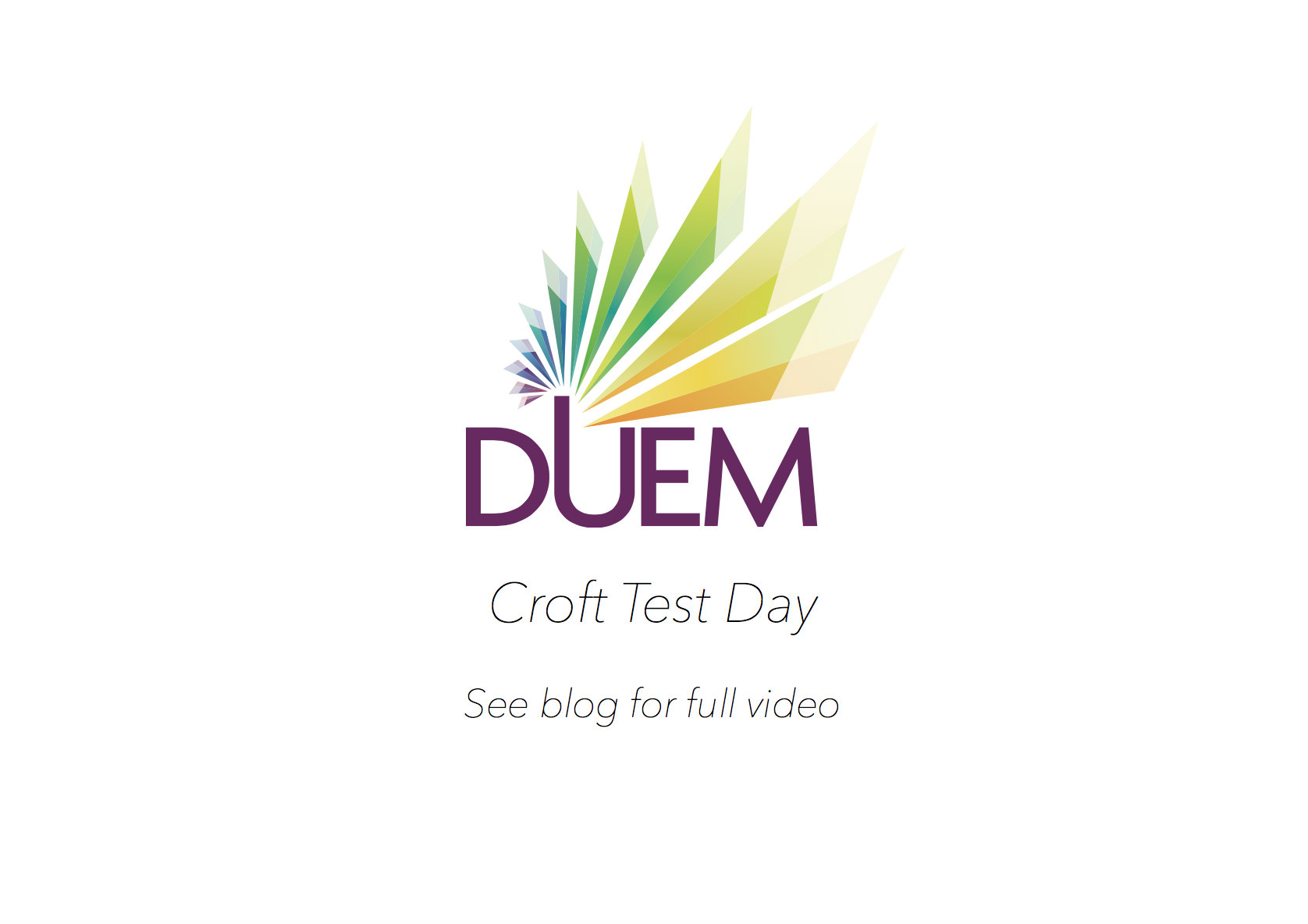 Croft Test DUEM Logo